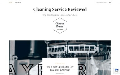 cleaningservicereviewed.com screenshot