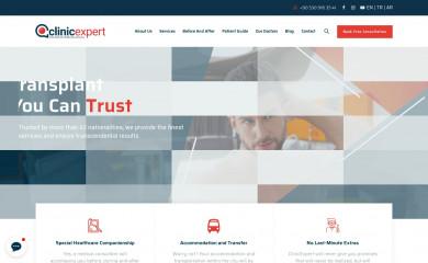 clinicexpert.com screenshot