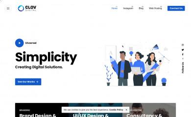 clovdigital.com screenshot