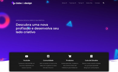 clubedodesign.com screenshot