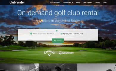 clublender.com screenshot