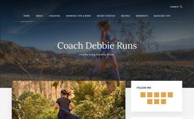 http://coachdebbieruns.com screenshot