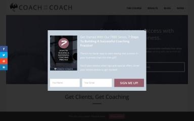 coachthelifecoach.com screenshot