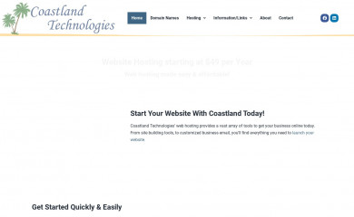 coastlandtech.com screenshot