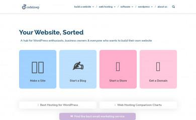 http://codeinwp.com screenshot