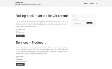 codingbee.net screenshot