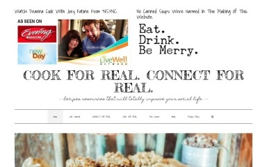 cookforrealconnectforreal.com screenshot