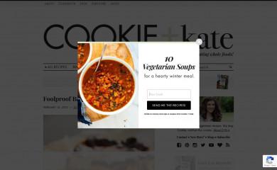 http://cookieandkate.com screenshot