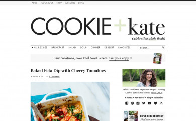 cookieandkate.com screenshot