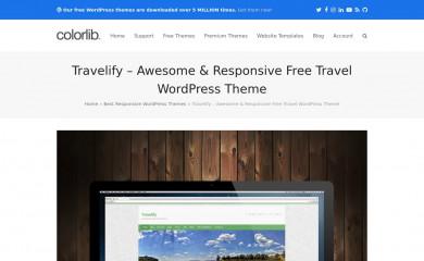 Travelify screenshot