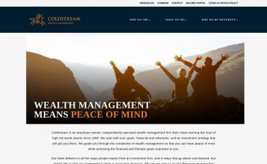 coldstream.com screenshot