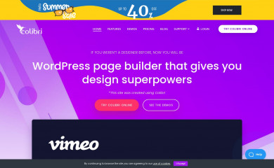 colibriwp.com screenshot
