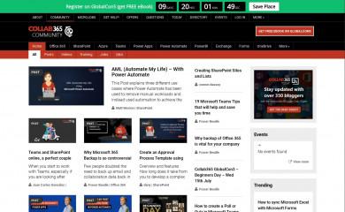 http://collab365.community screenshot