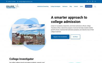 collegetransitions.com screenshot