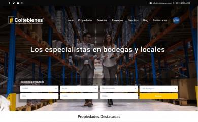 coltebienes.com screenshot