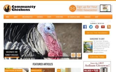 communitychickens.com screenshot