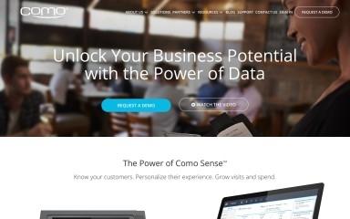 http://como.com screenshot