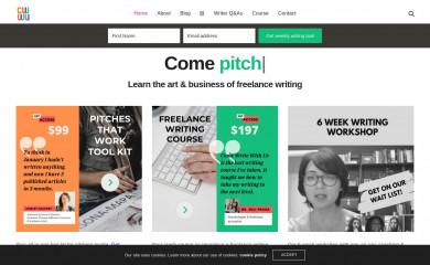 comewritewithus.com screenshot