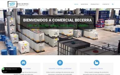 comercialbecerra.cl screenshot