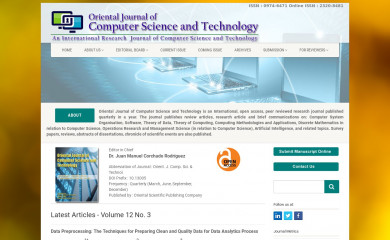 computerscijournal.org screenshot