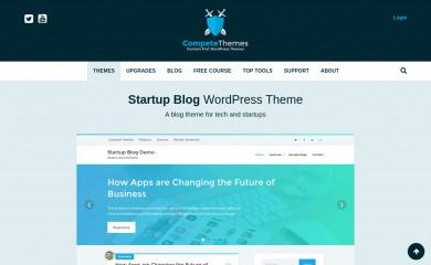 Startup Blog screenshot