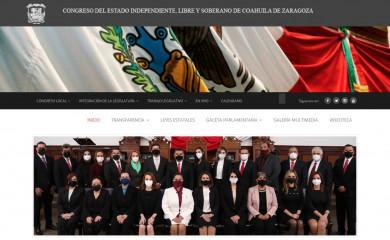 congresocoahuila.gob.mx screenshot