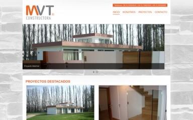 http://constructoramvt.cl screenshot