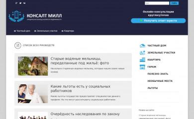http://consultmill.ru screenshot