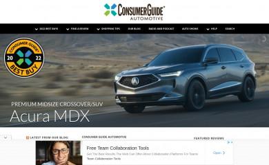 http://consumerguide.com screenshot