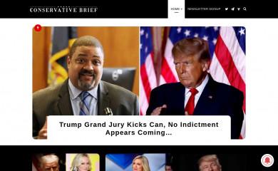 conservativebrief.com screenshot