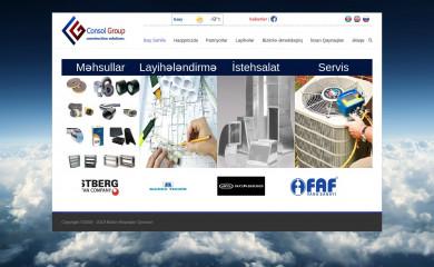 http://consolgroup.az screenshot