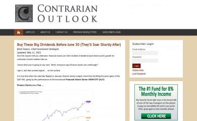 contrarianoutlook.com screenshot