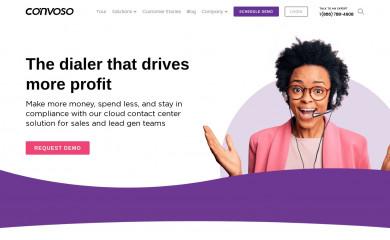 convoso.com screenshot