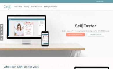 corjl.com screenshot