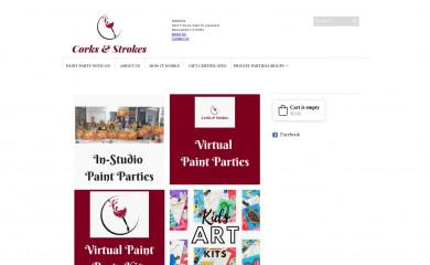 corksandstrokes.com screenshot