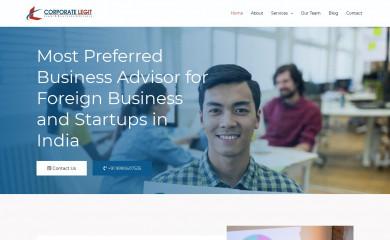 corporatelegit.in screenshot