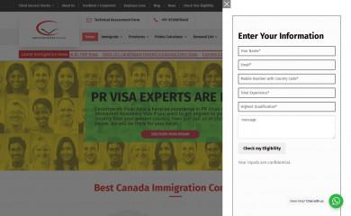 countrywidevisas.com screenshot
