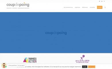 coupdepoing.com screenshot