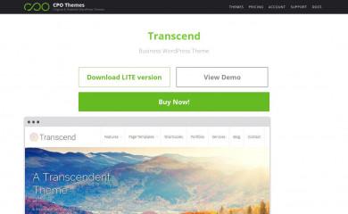 Transcend screenshot
