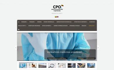 http://cpo.lt screenshot