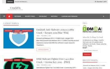 crackfix.net screenshot