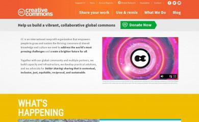 creativecommons.org screenshot