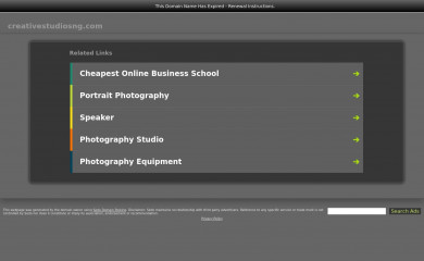 creativestudiosng.com screenshot