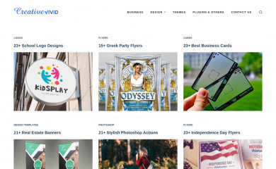 creativevivid.com screenshot
