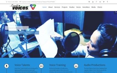 creativoices.com screenshot