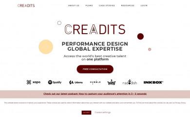 creadits.com screenshot