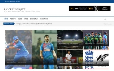 http://cricketinsight.in screenshot