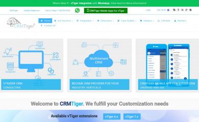 http://crmtiger.com screenshot