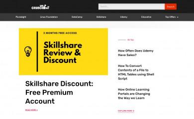 http://crunchadeal.com screenshot