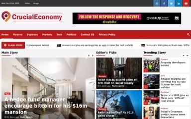http://crucialeconomy.com screenshot